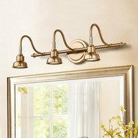 Miroir américain phare salle de bains led miroir lampe rétro nordique éclairage étanche miroir armoire lampe applique lw419512