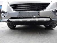 Front Bumper Plate Molding Lid Cover For Hyundai Tucson Ix35 Ix 35 2010 2011 2012 1pce