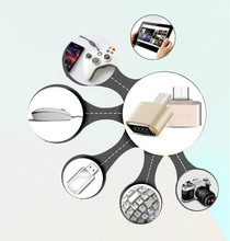 Micro USB to Magnetic Charger Data Adapter Cable for Android Smart Phone