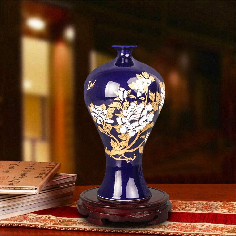 Online kopen wholesale chinese geel vaas uit china chinese geel ...