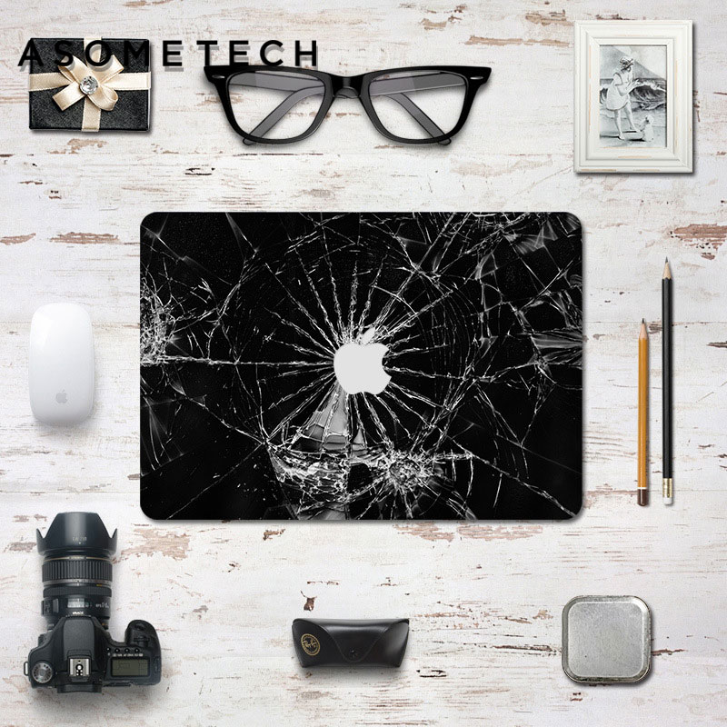 3D Laptop Skin Decal Sticker For MAC 11.6 12 13.3 15.4 Full Cover PVC Notebook PC Reusable sticker for Macbook Retina Air/pro 13