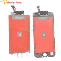 5PCS Lot IBroken Parts AAA Quality No Dead Pixel Screen Display For IPhone 6 LCD Full