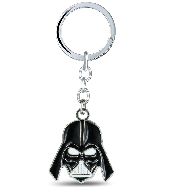 MS JEWELS Movie Fan Star Wars Darth Vader Anakin Skywalker Keychain Metal Key Rings For Gift Chaveiro Key Chain