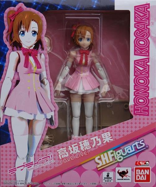 """NEW Bandai Tamashii Nations S.H Figuarts Honoka Kosaka /""""Love Live!/"""" Figure"""