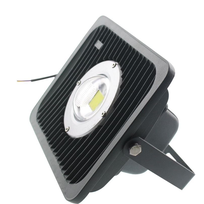 Waterproof IP66 LED Floodlight 50W AC 85-265V Outdoor Lighting Super Bright lens led Flood Spotlight light 1pcs portable 20w rechargeable led floodlight ac 85 265v waterproof emergency light camping outdoor lighting lamps