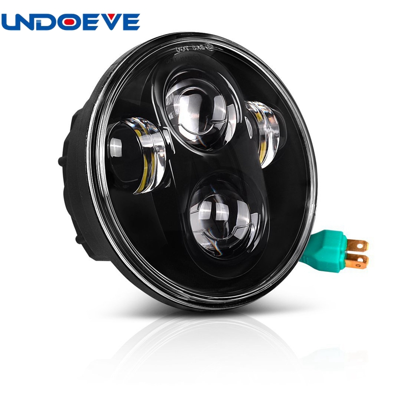For harley dyn For Triumph Street Triple motorcycle Hi/Lo beam 5.75 LED headlight projector daymaker replacement lighting lamp