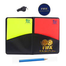 font b Soccer b font referee whistle with cards coin loudly whistles red card and