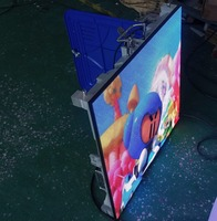 Light Weight Thin Indoor P4 Advertising Rental Full Color LED Display LED Video Wall Panel 128 x 128 Pixels Led Display TV