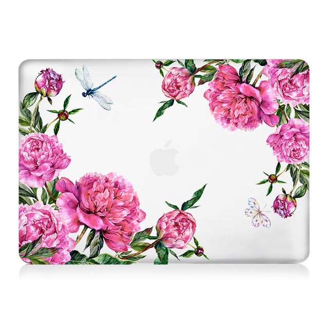 Laptop Hard Case – Flowers – 20 Patterns