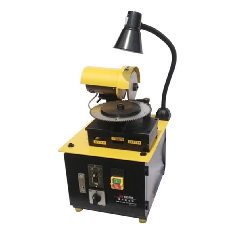 SAW BLADE SHARPENER MR-Q10 Sharpening Machine Small Full-automatic Circular Re-sharpener CE 1 year warranty grinder cutter djt10f21 11jb [ circular mil spec connectors djt 11c 11 12 skt re] mr li