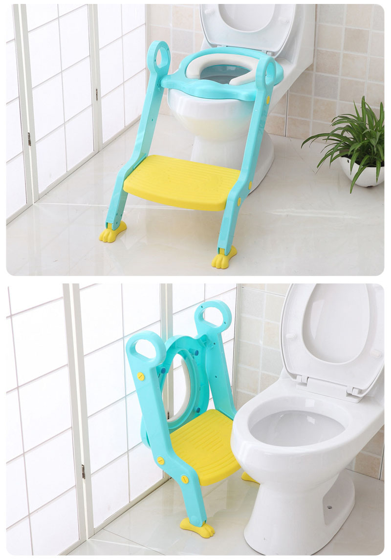 Astonishing Us 15 8 Infant Toilet Folding Ladder Toilet Trainer Chair Baby Toilet Seat Child Potty Step With Adjustable Ladder Children Potty Seat In Potties Spiritservingveterans Wood Chair Design Ideas Spiritservingveteransorg