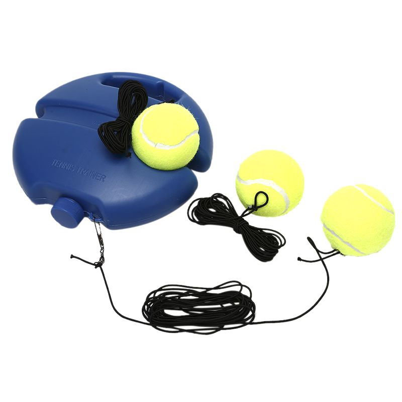 1 Set Tennis Training Primaire Tool Oefening Tennisbal Zelfstudie Rebound Bal Tennisbal Zelfstudie Rebound Ball Tennis Trainer