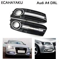 1 Pair Super Bright Brand New Style 12v Led Car DRL Daytime Running Lights With Fog