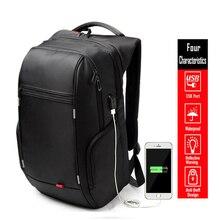 "15.6 17.3"" Waterproof Laptop Backpack Men Women Travel Party Backpack College Student Rucksack Bag USB Charge Port D8195"