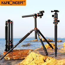 купить K&F CONCEPT Camera Tripod KF-TM2534T Lightweight 2-Sections Monopod with Ball Head Flexible Tripod for Sony/Nikon/Canon DSLR  по цене 8414.95 рублей
