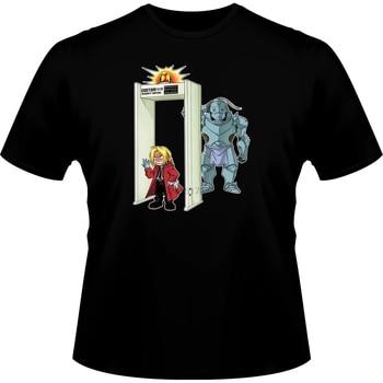 Corta Camiseta De Hip Hop Starnger cosas Camiseta Manga - Parodia De...