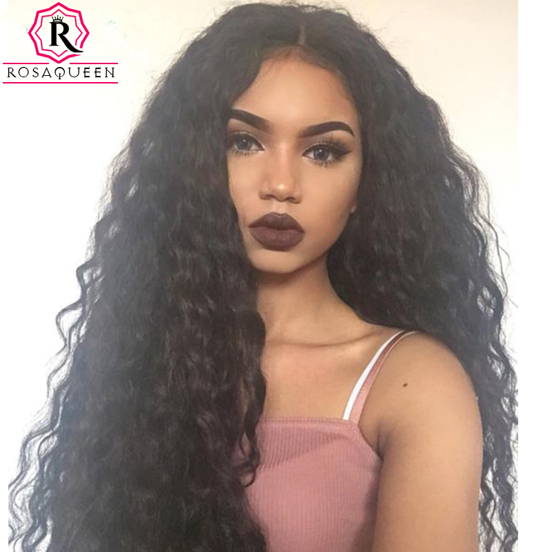 250 Density Lace Front Human Hair Wigs Deep Wave Full