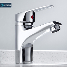 Bathroom Basin Sink Faucet Chrome Single Handle Kitchen Taps Faucets Mixer hot and cold water hose Finished