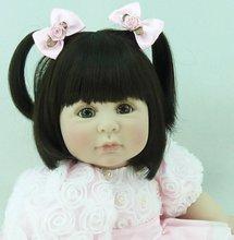 22 inch 55 cm Silicone baby reborn dolls,Fashion clothes simulation hair doll, simulation doll, rose doll Valentine's day gift.
