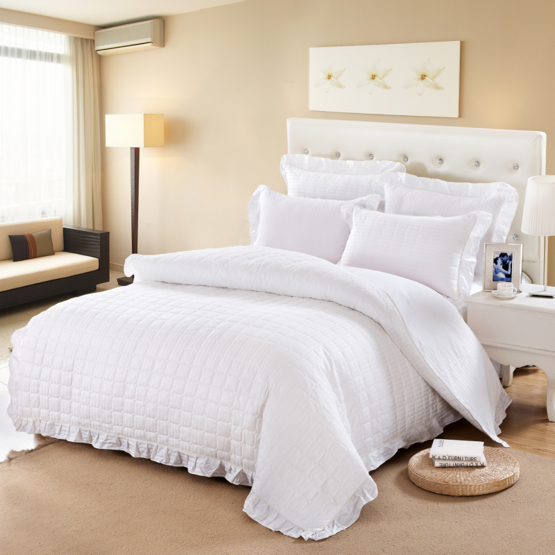 Online Buy Wholesale White Twin Bedspreads From China