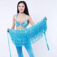 Tassel fringe sequin women Summer style beach short Sequin Belly  Dancer Costume Tassel Wrap Skirt Club Mini Skirt 3