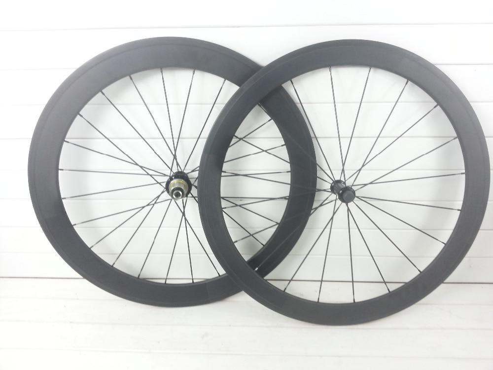 2016 T1000 UD 3K 12K carbon road bike wheels 700C 50mm depth carbon road wheels racking