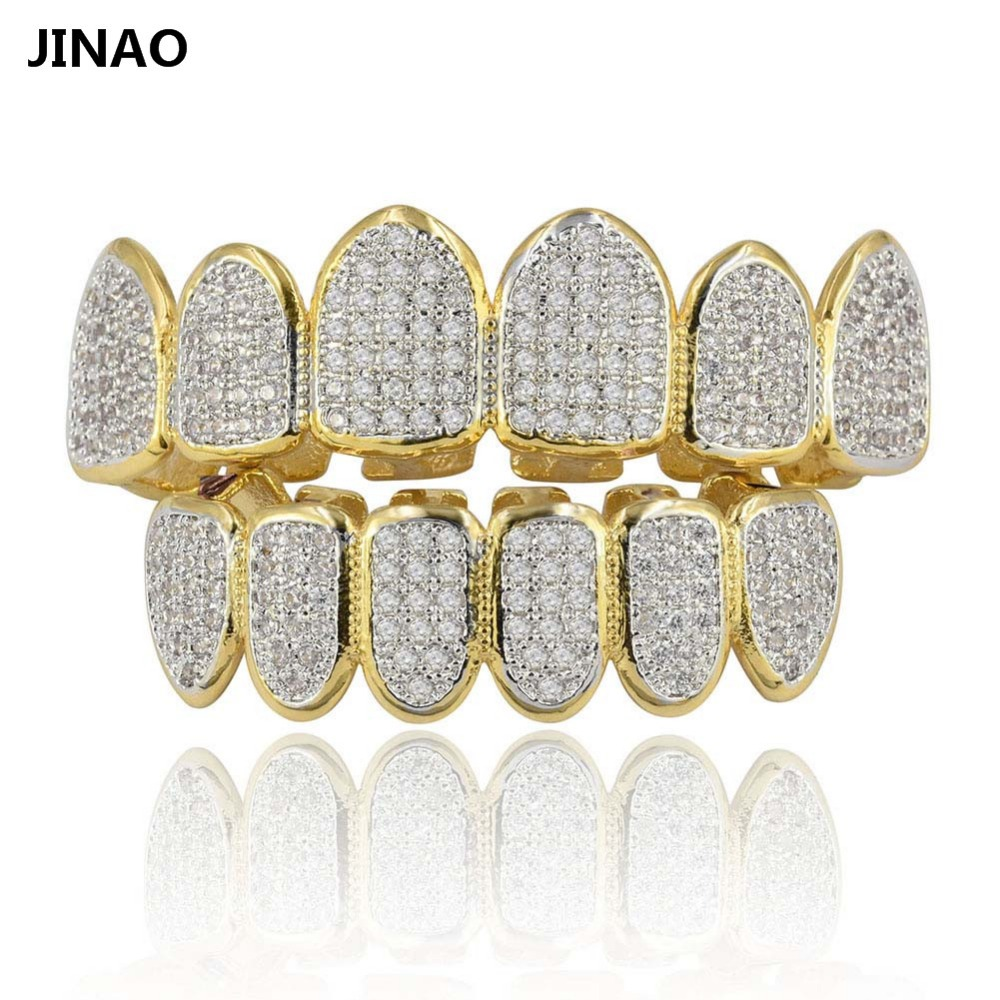 JINAO Gold Silver Plated Hip H...
