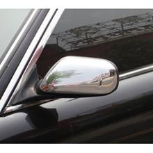 Chrom Flügel Spiegel Abdeckungen Tür Seite Spiegel Kappen für JAGUAR XJ X300 X308 & XK XK8 XKR X100