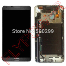 For Samsung Galaxy Note 3 Neo SM N750 LCD Display With Touch Screen Digiitzer with Frame