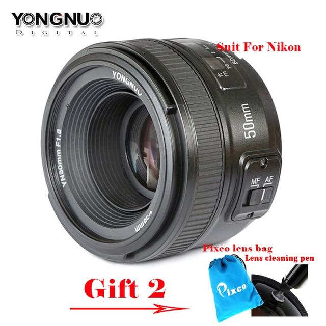 yongnuo 50mm f1 8 1 1 8 standard prime lens auto manual focus af mf rh aliexpress com Nikon AF-S vs AF Best Nikon Primes