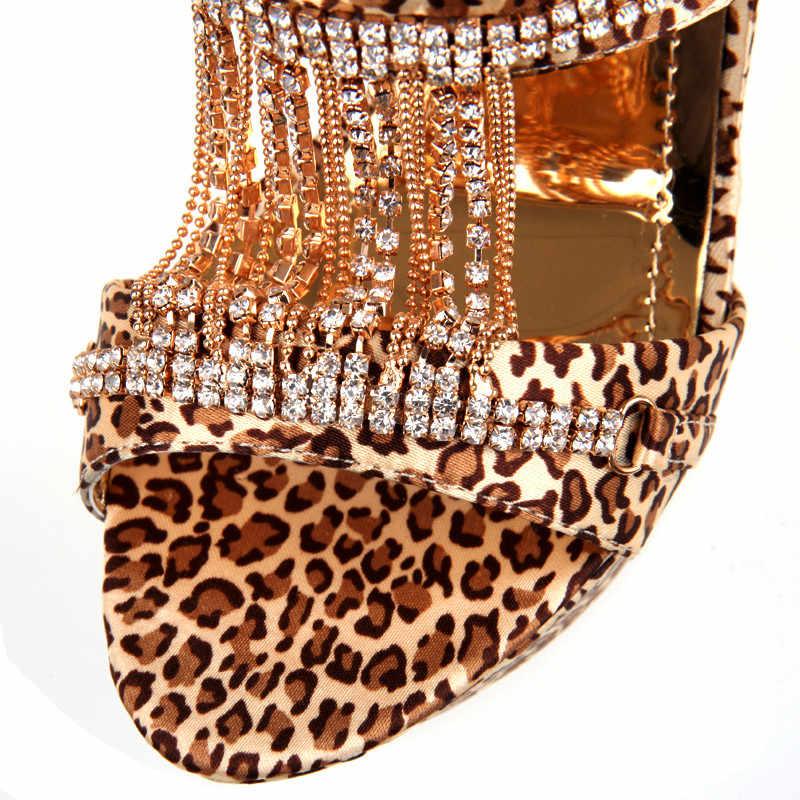 MoonMeek büyük boy 34-43 moda yaz yeni ayakkabı kadın platformu süper yüksek topuklar ayakkabı wmen kristal zarif sandalet kadınlar 2019