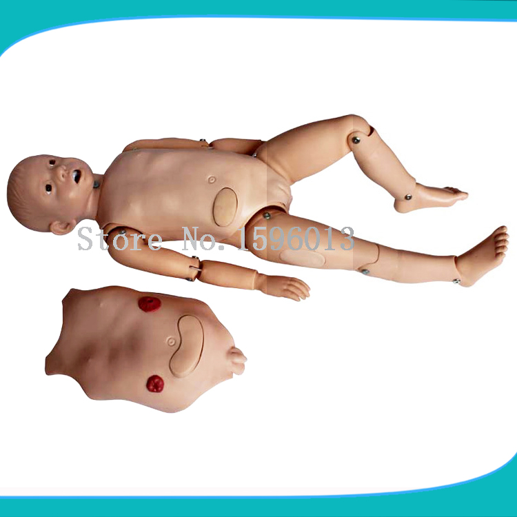 3-Year-Old Child Nursing Training Manikin, Nursing Care Baby,Baby Nursing Training bix h2400 advanced full function nursing training manikin with blood pressure measure w194