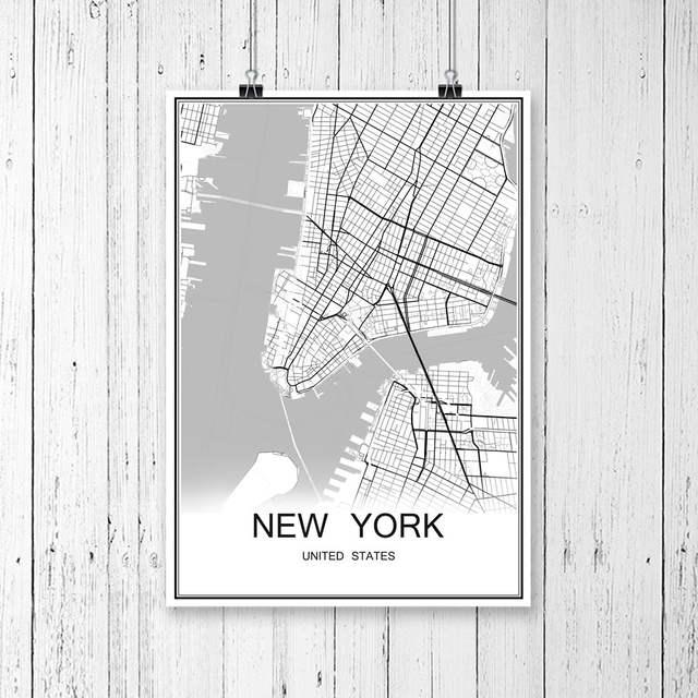 Print Map Of Ireland.Online Shop Dublin Ireland City Street Map Print Poster Abstract