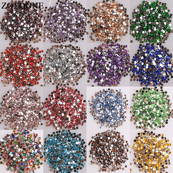 ZOTOONE Flat Back Resin Non Hotfix Stones And Crystals For Clothes Diy Decoration Glue On Nails Ab Rhinestones Strass Applique E 2 5mm square wave resin rhinestone trim banding hotfix iron on strass mesh bridal beaded applique for diy dress clothes jewelry
