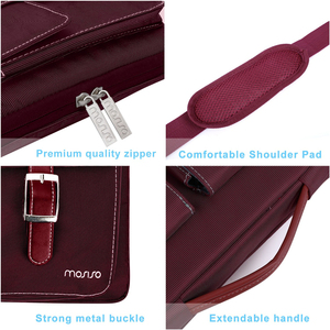 Image 5 - MOSISO Laptop Bag 13.3 14 15 15.6 Inch Waterproof Notebook Bag for Macbook Air Pro 13 15 Computer Shoulder Handbag Briefcase Bag