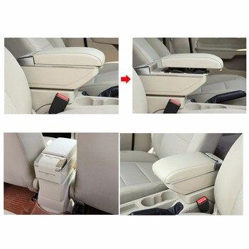 Pour Ford Focus 2 Mk2 2009 2010 2011 Boîte D'accoudoir De Voiture Console Centrale Bras Magasin Contenu Boîte Support De Verre Cendrier Avec Montée Et Descente
