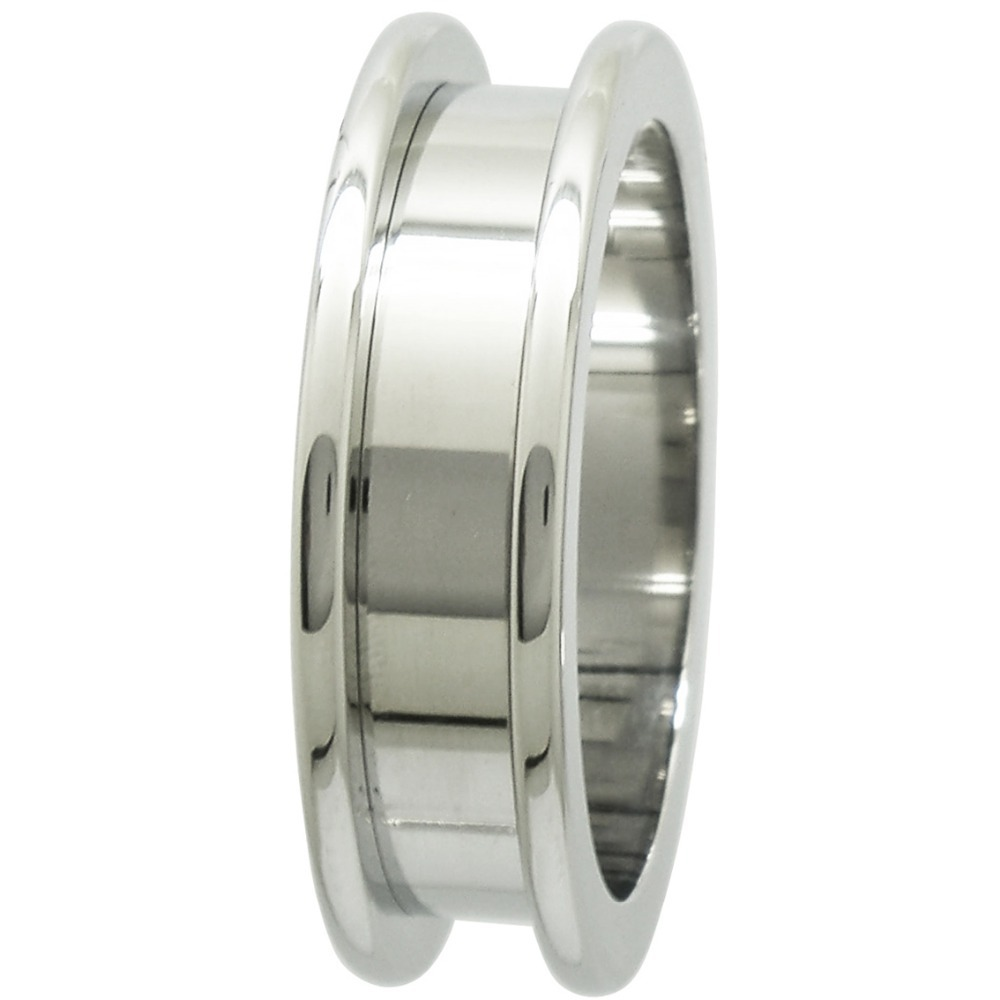 30MM 316L SURGICAL STAINLESS STEEL FLESH TUNNEL