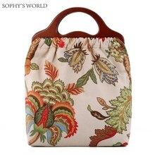 2017 Flower Women Tote Bag Ladies Hand Bag Famous Brand Handbags Elegant Women Purses Clutch Top
