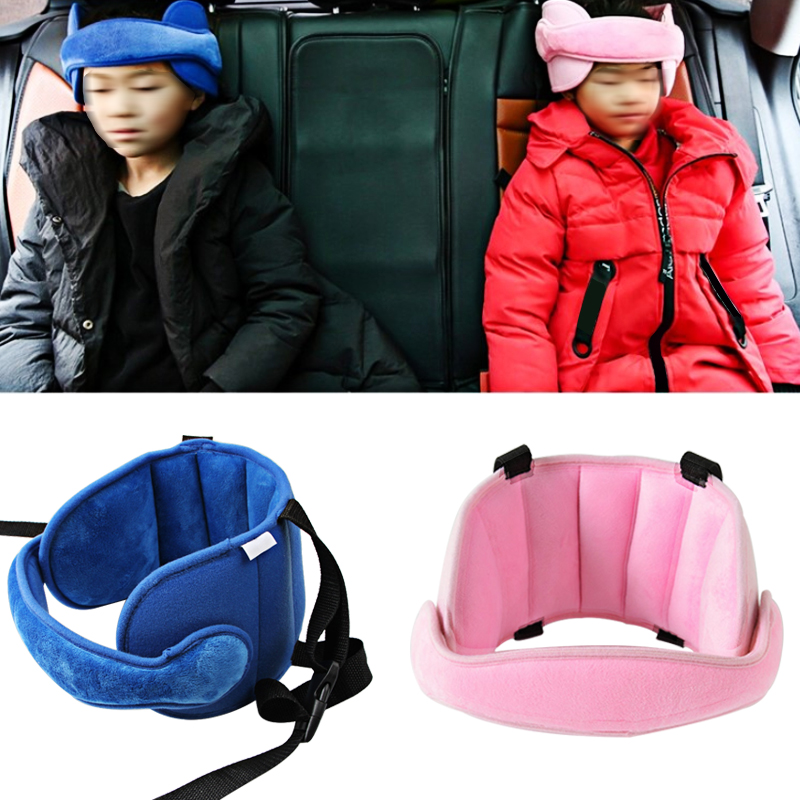 Child Head Fixed With Car Safety Seat Baby Head Support Head Pillow Part Sleep Aid Belt Protection Pad