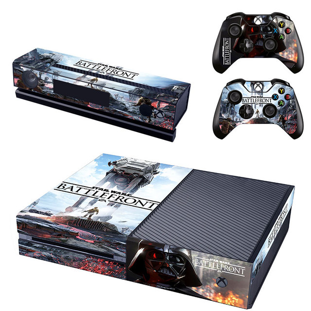 Aliexpress buy high quality pvc star wars battlefront skin high quality pvc star wars battlefront skin sticker for xbox one console2pcs controller skin sciox Gallery
