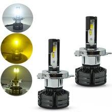 2x Сменные тройной Цвет горки H8 H11 9005 9006 H4 H7 H1 H3 880 881 светодиодный дальнего света Противотуманные фары обновления лампы