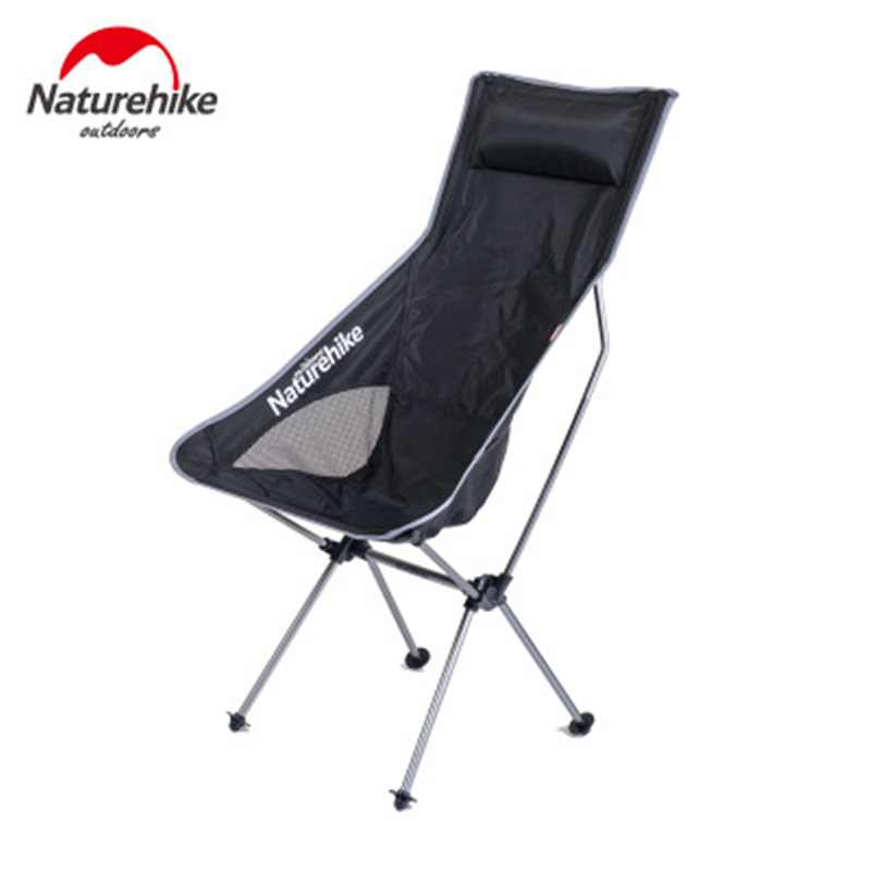 Naturehike Outdoor Camping Chair Folding Chair Portable Fishing Chairs Lightweight Foldable Camping Seat Fishing Camping Picnic