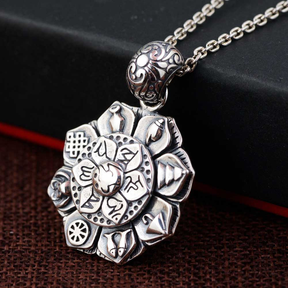 FNJ 925 Silver Flower Pendant Cross New Fashion Hang Pure Original S925 Thai Silver Pendants Women for Jewelry MakingFNJ 925 Silver Flower Pendant Cross New Fashion Hang Pure Original S925 Thai Silver Pendants Women for Jewelry Making