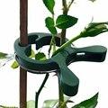 80 pcs Jardim Planta Fixa Clipe Uva Videiras Suporte Suporte de Estufa Legumes Flores Amarrado Fivela Grampo Prendedor