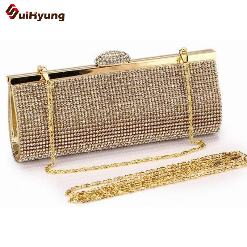 The Best Price Women s Party Day Clutches Luxury Fashion Full Diamond Wedding Handbag Lady Purse