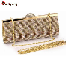 The Best Price Women's Party Day Clutches. Luxury Fashion Full Diamond Wedding Handbag. Lady Purse Evening Bag Dinner Bag