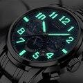 2019 AESOP автоматические механические часы для мужчин Топ бренд класса люкс Бизнес водонепроницаемые мужские часы из нержавеющей стали Relogio ...