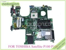 laptop motherboard for toshiba satellite P100 DABD1VMB06C A000012540 GM945 DDR2 with graphics slot