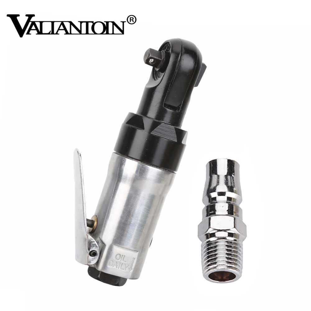 VALIANTOIN 1/4-Inch Mini Air Ratchet Wrench Silver Pneumatic Ratchet Wrench Tools Right Angle Bend Shortest Spanner ToolsVALIANTOIN 1/4-Inch Mini Air Ratchet Wrench Silver Pneumatic Ratchet Wrench Tools Right Angle Bend Shortest Spanner Tools