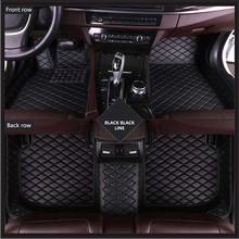 цена на high quality Car Floor Mats For Jaguar XJL 2010-2018 Custom Auto Foot Pad Automobile Carpet Cover Waterproof mat